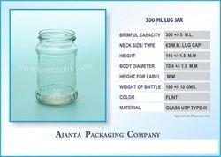 300 Ml Lug Jar