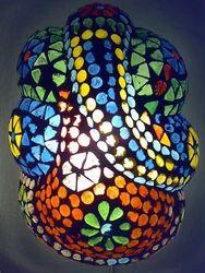 Ganesh Mosaic Lamp