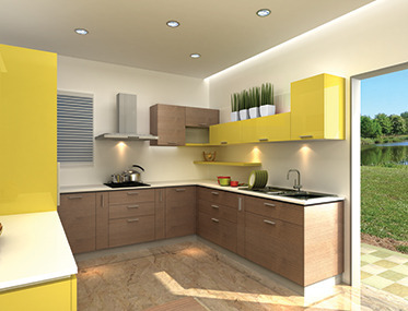 Modular Kitchen U Kitchen Cuisine Regale Manufacturer From Mumbai