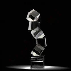 Cube Crystal Trophy