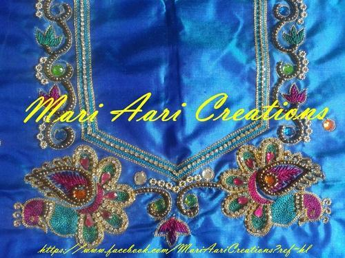 Aari Work Aari Embroidery Blouses Retailer From Chennai