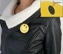 Smiley Face Badge Spy Camera