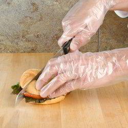 Disposable Food Grade Vinyl Gloves