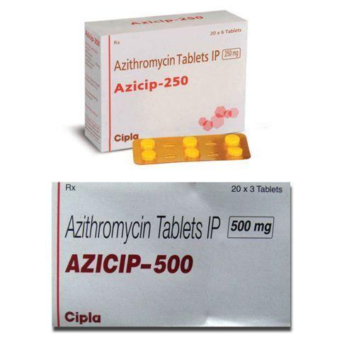 Azithromycinum angina medication