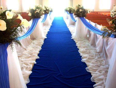 Decorations Blue White Wedding Theme Decoration Service Provider From Kota