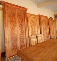 Teak Traditional Carved Doors