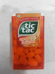 tic tac orange flavoured