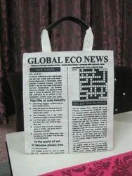 News Paper Print Promotional Bag