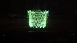 Musical Fountain Cross Jet Effect