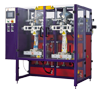 Automatic Twin head Economical Vertical  Pouch Packing Machine with Filler