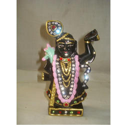 Shri Nath Ji Maharaj In Black Marble Stone