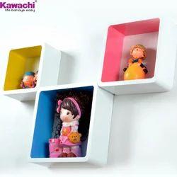 Retro Wall Storage Shelves