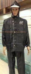 Black Rain Coats Uniform