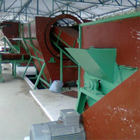 coir extraction machine