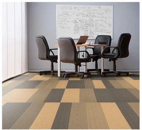 Carpet Tiles-Brown