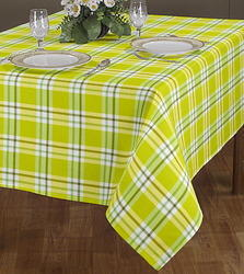 Checked With Strip Line Printed Cloth