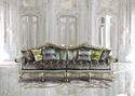 Italian Wood Sofa