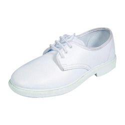 white canvas school shoes