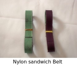 Nylon Sandwich Belt