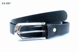 Black Shining Ladies Belts