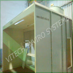 Dry Type Side Draft Booth