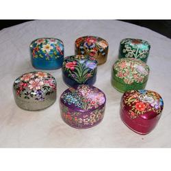 Paper Mache Pin Boxes