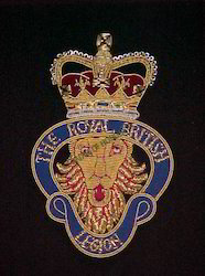 The Royal British Legion Blazer Badges