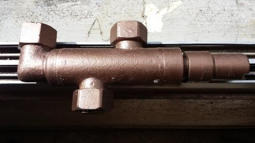 Ammonia Dual Manifold for Safety valves