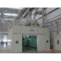 Acoustic Enclosure for Plasma Spray
