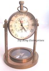 Antique Moon Stand Clock