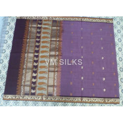 zari border cotton saree