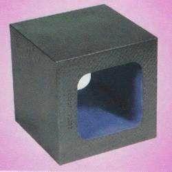 Cast Iron and Granite Cube