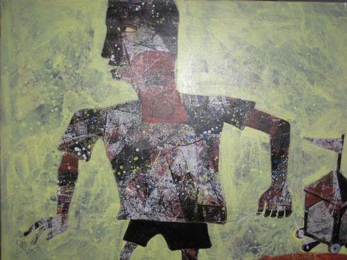 Sundip Dutta ( Acr on Canvas )