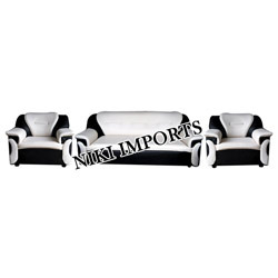 Indigo Sofa Set - Rexine
