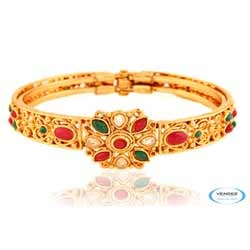 Kundan Gold Plated Bangle