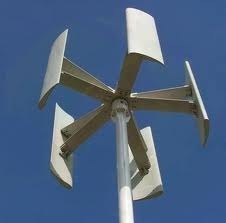 vertical wind mill system