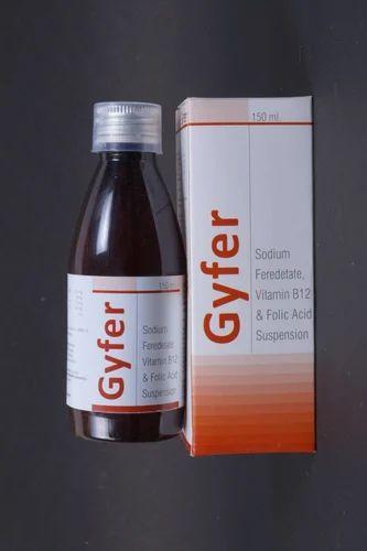 Ferric Ammonium Citrate, Folic Acid & Zinc Syrup