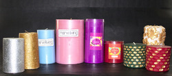 Scented Pillar Candles