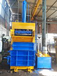 Single Box Single Cylinder Baling Machine