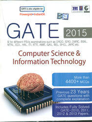 GATE 2015 Computer Science Anthropology Books