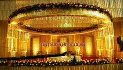 Latest Wedding Designer Crystal Mandap