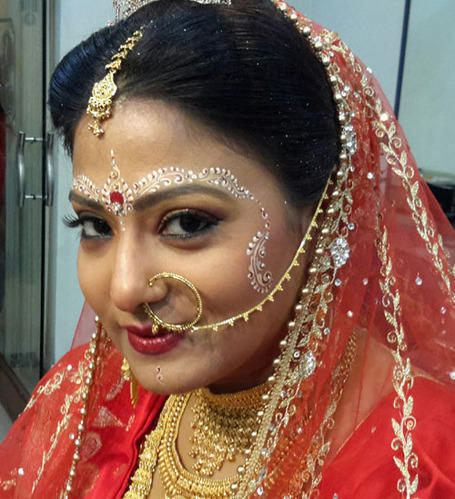 Best Bridal Makeup Artist In North : Best Beauty Parlour For Bridal Makeup In North Kolkata ...
