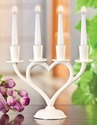 Candle Stand Heart Shape