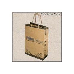Leaf Kraft Paper Bags