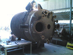 Limped Coil Jacketed Vessel