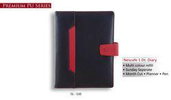 Nescafe 1 Date Red & Black Diaries