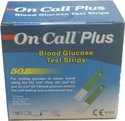 On Call Plus Glucometer Strips