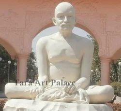 Gajanan Maharaj Marble Portrait