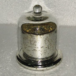 Silver Clotch Jar Candle