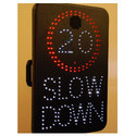 Static Speed Limit Signs